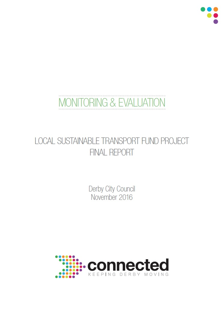 Derby Connected LSTF Final evaluation report cover image