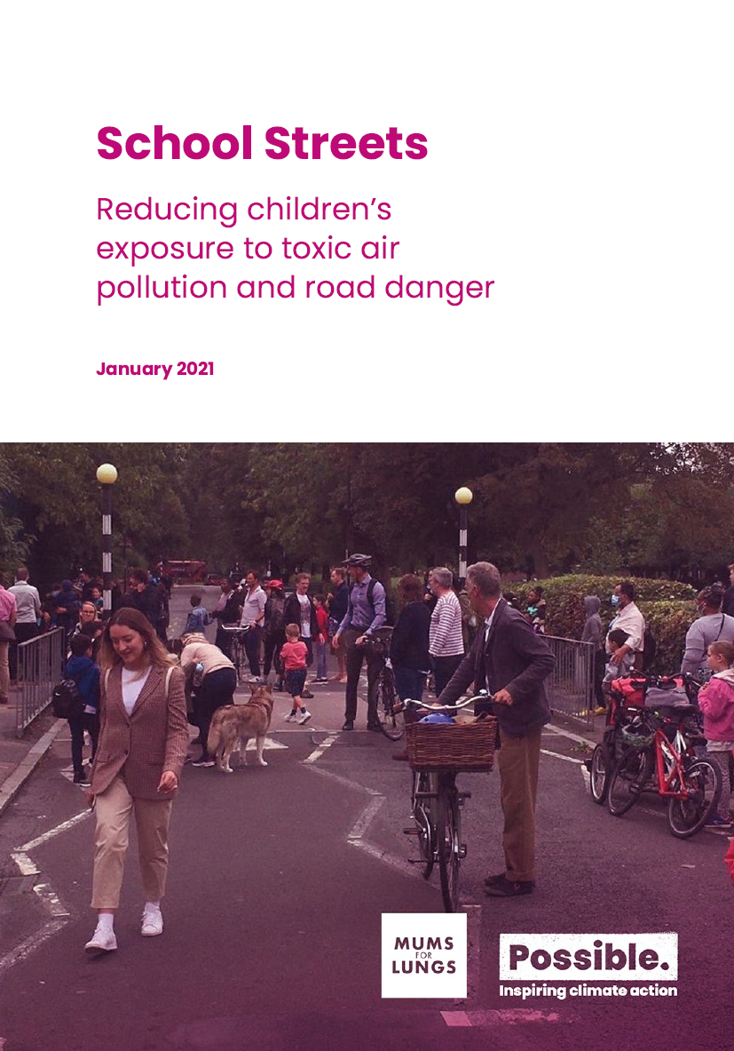 School Streets toxic air report_cover_image