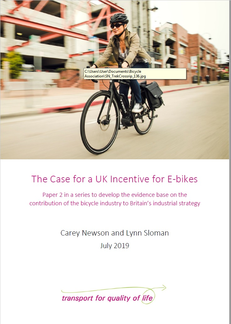 The case for a UK incentive for e-bikes_ cover_image