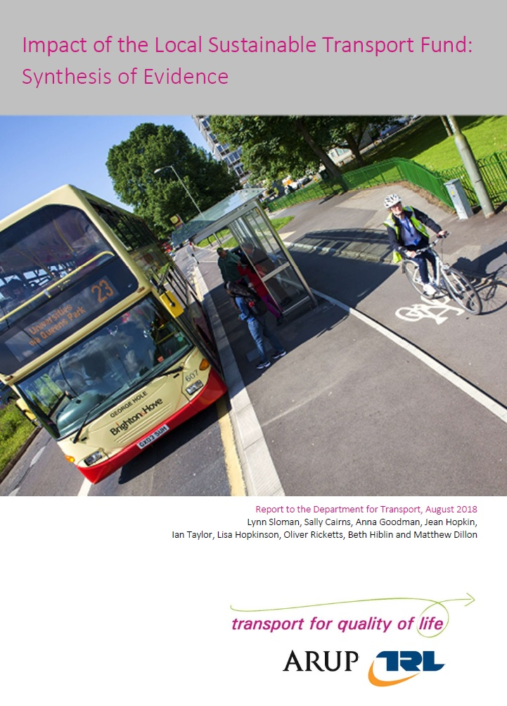 Smarter Choices' - Behaviour Change for Sustainable Travel